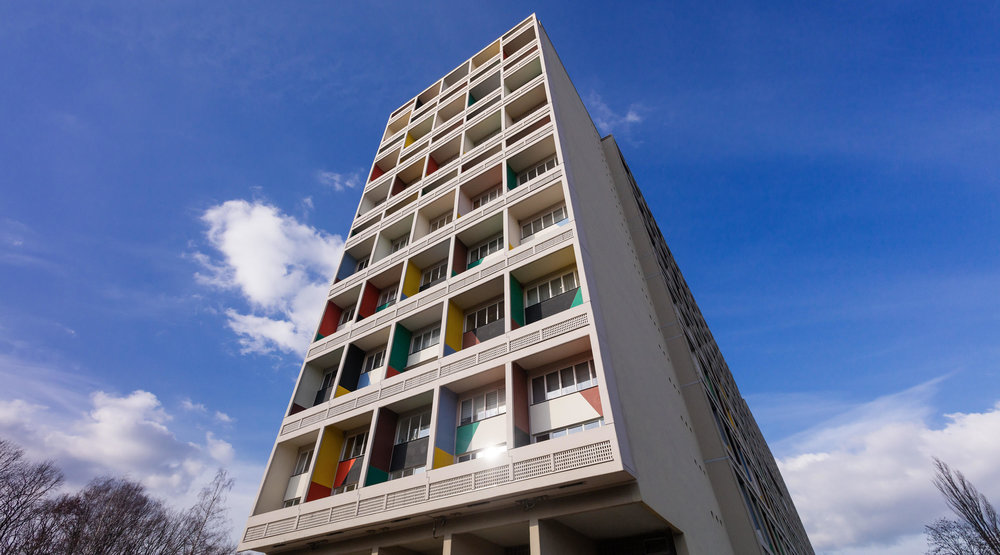 Corbusierhaus, arch. Le Corbusier, 1958 m.. Foto: Ph.Mohr.