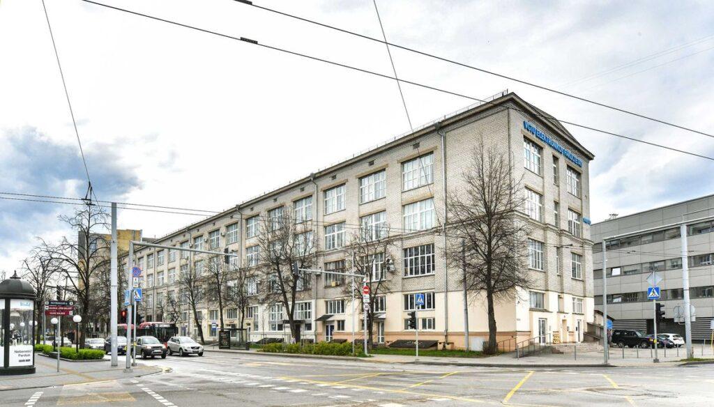 Vilnius Tech parduodami pastatai Naugarduko g. 41, Vytenio g. 20 ir 22