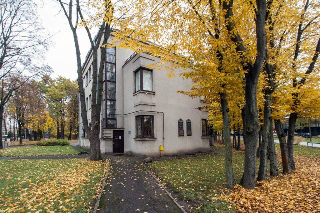 A. ir P. Galaunių namai-muziejus (arch. A.Funkas). Foto: A. ir P. Galaunių namai.