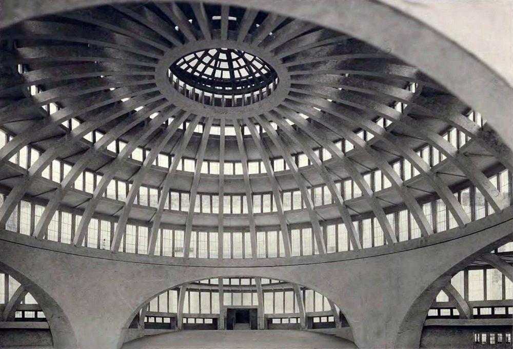 Šimtmečio halė Vroclave (arch. M.Berg, 1913 m.). Foto: PILOTAS.LT archyvas
