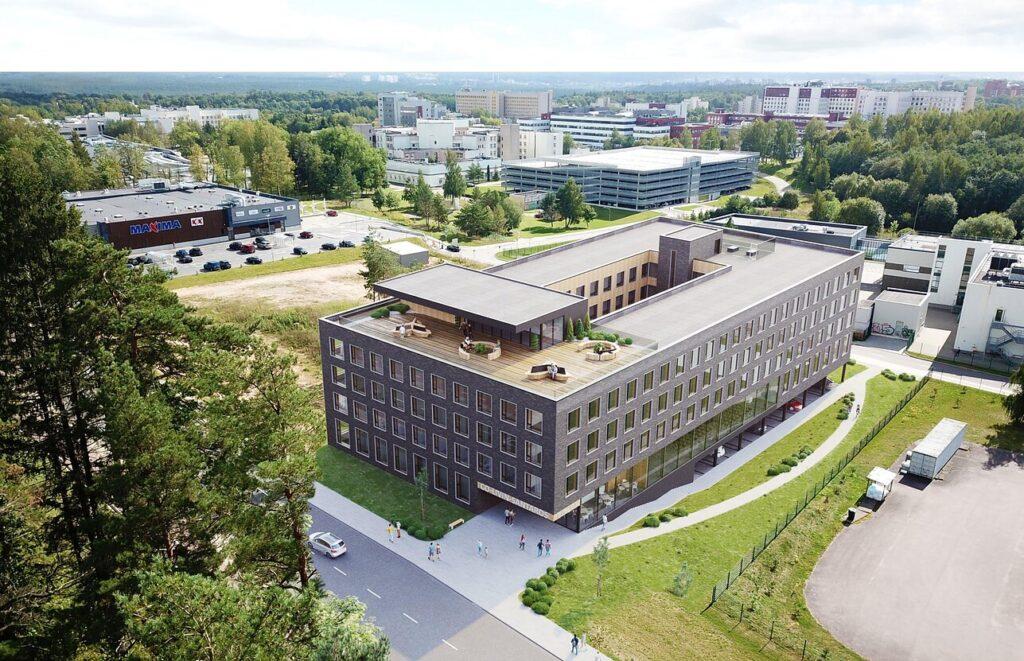 Studentų namai (arch. J.Žalys, A.Zanevičius, L.Noreikaitė)