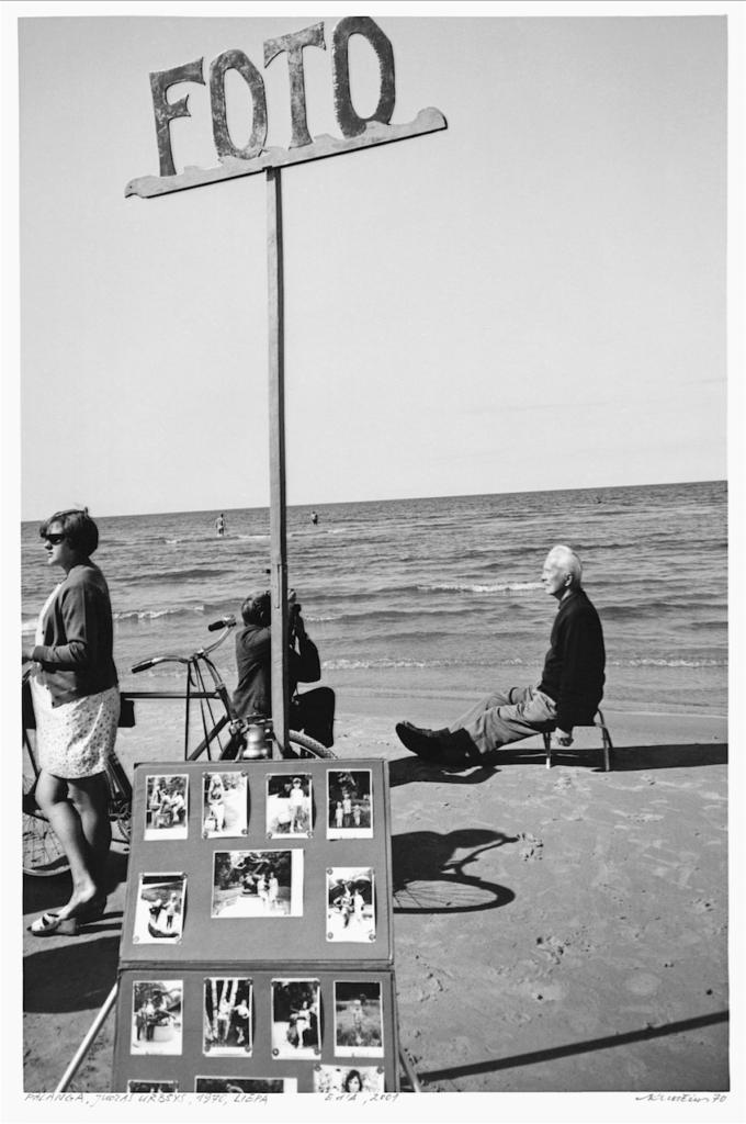 """Iš serijos """"Prie jūros"""", A.Kunčius."""