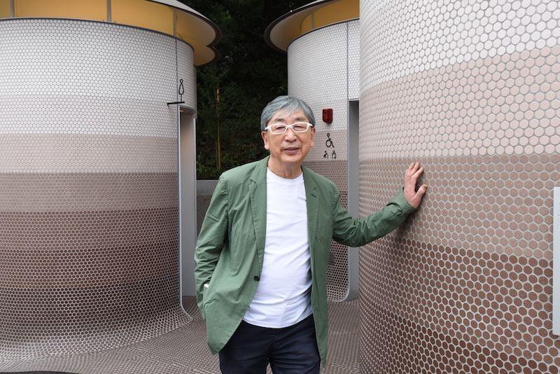 """Pritzkerio architektūros premijos laureatas Toyo Ito. Foto: """"Nippon Foundation""""."""