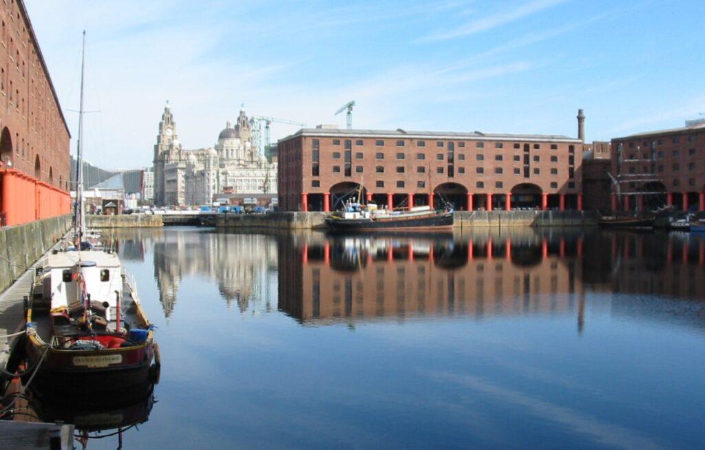 Liverpulis UNESCO pasaulio paveldo sąraše buvo, kaip jūrinės prekybos miestas. Alberto Karališkasis dokas. Foto: Wikipedia