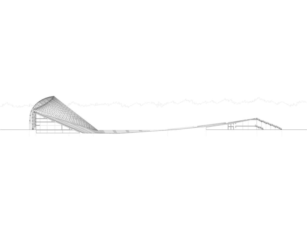 "Dainų estrada Miško parke (arch. A.Mailitis, J.Poga). Pav: ""Mailitis Architects"" ir ""Architect J. Pogas birojs"""