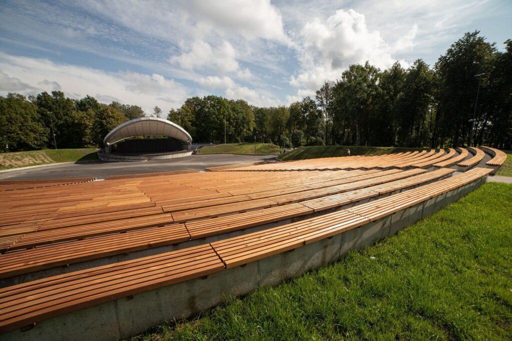 Modernizuota Šiaulių estrada. Foto: Šiaulių kultūros centro