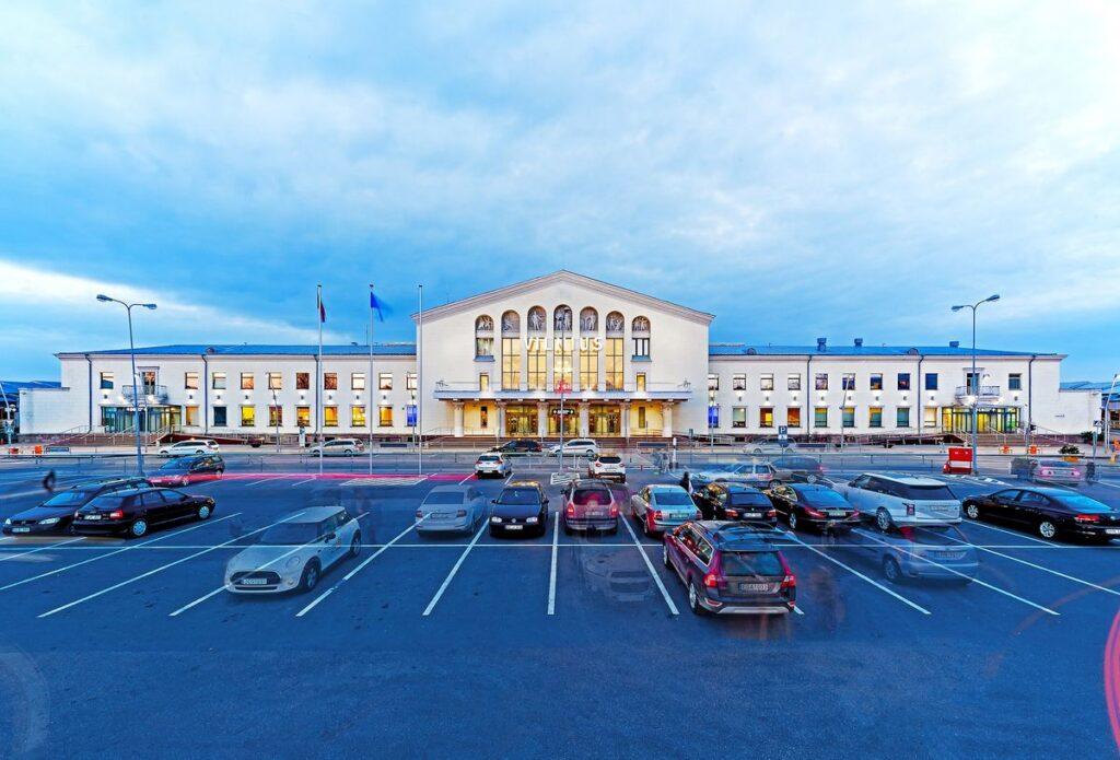 Centrinis Vilniaus oro uosto pastatas (1954 m.). Foto: Kultūros ministerija.