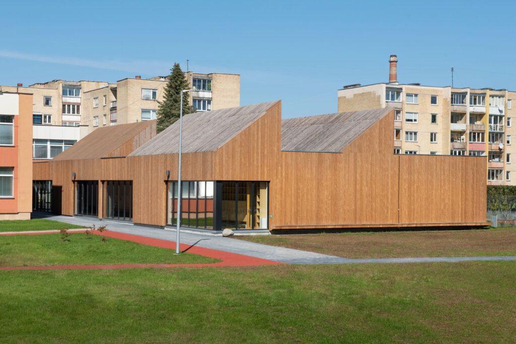 """Vaikų darželis """"Pelėdžiukas"""" Pagiriuose. (arch. """"DO Architects"""".  Foto: Aistės Rakauskaitės."""