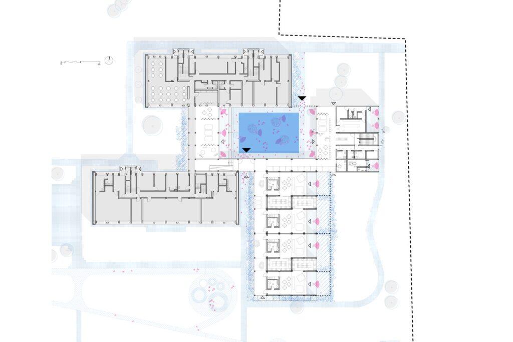 """Vaikų darželis """"Pelėdžiukas"""" Pagiriuose. (arch. """"DO Architects"""")."""