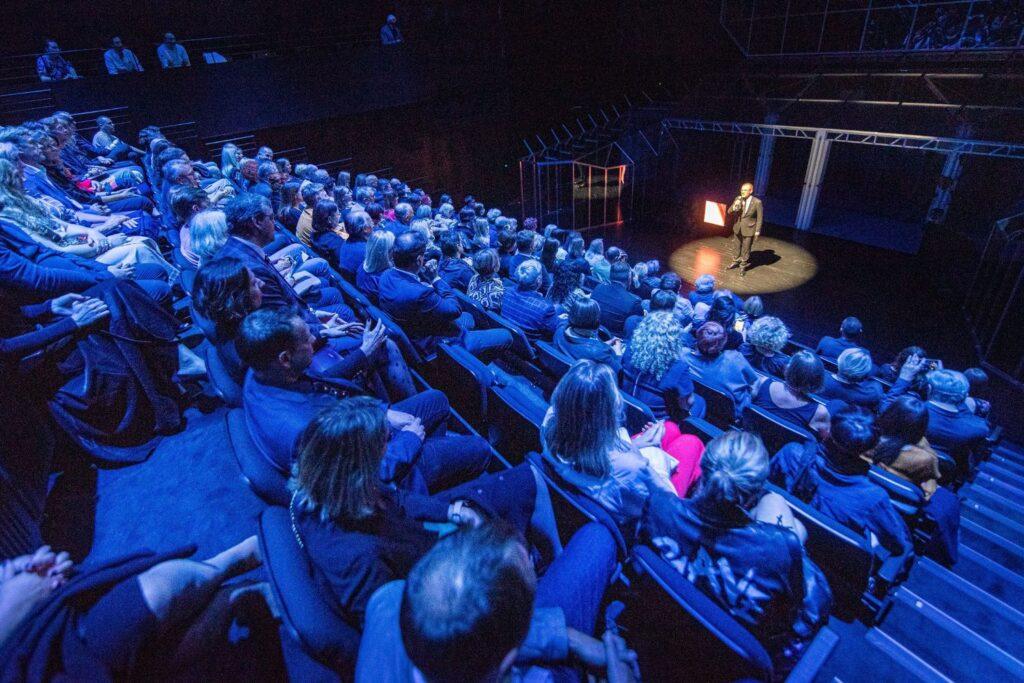 LNDT Naujojoje salėje telpa 350 žiūrovų. Foto: D.Matvejevo