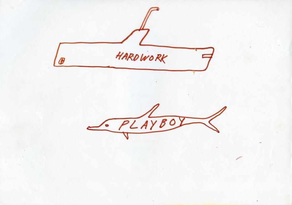"""Ž.Landzbergas, """"Hardwork Playboy""""."""