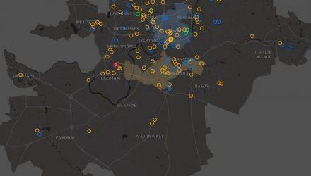 Vilniaus investicinis žemėlapis