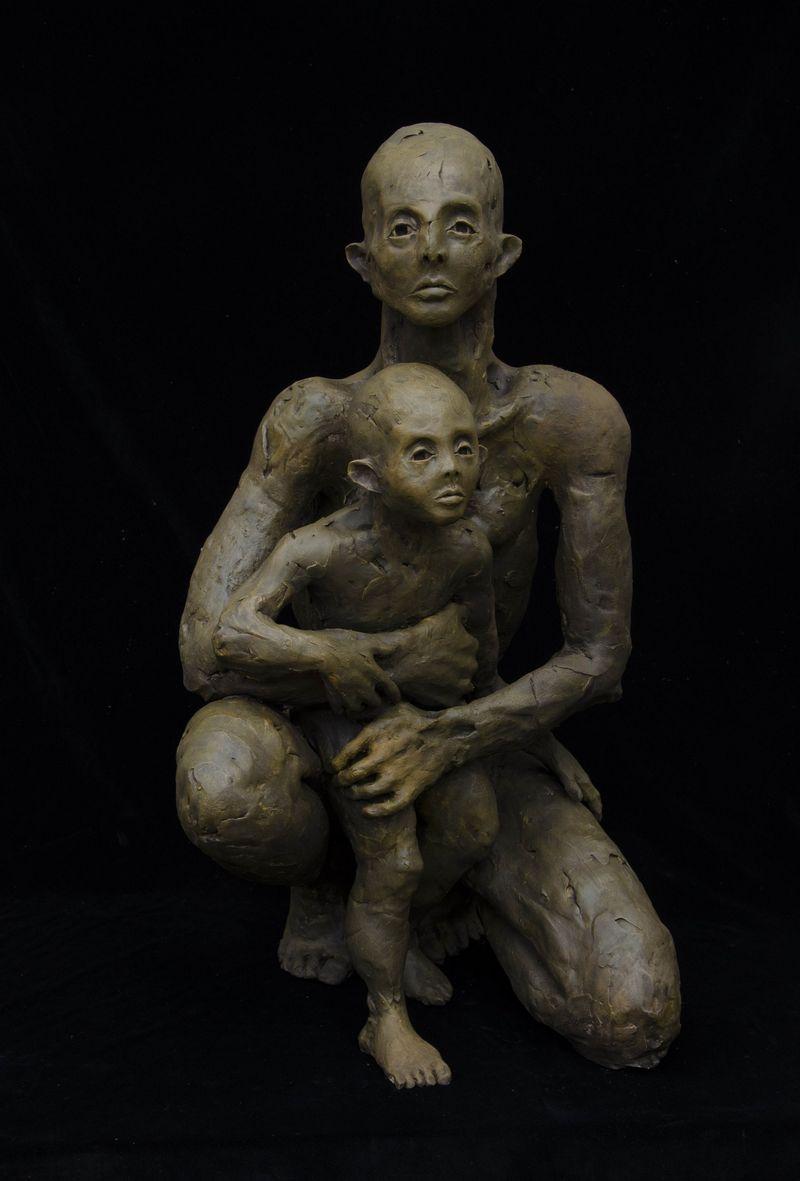 """""""Motina ir vaikas"""", R.Jusionytė, 2012 m."""