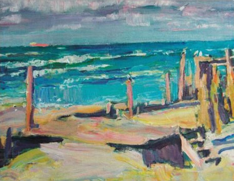 Jūra ir krantas
