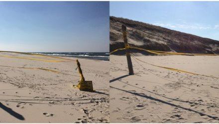 Pasienis Nidos paplūdimyje