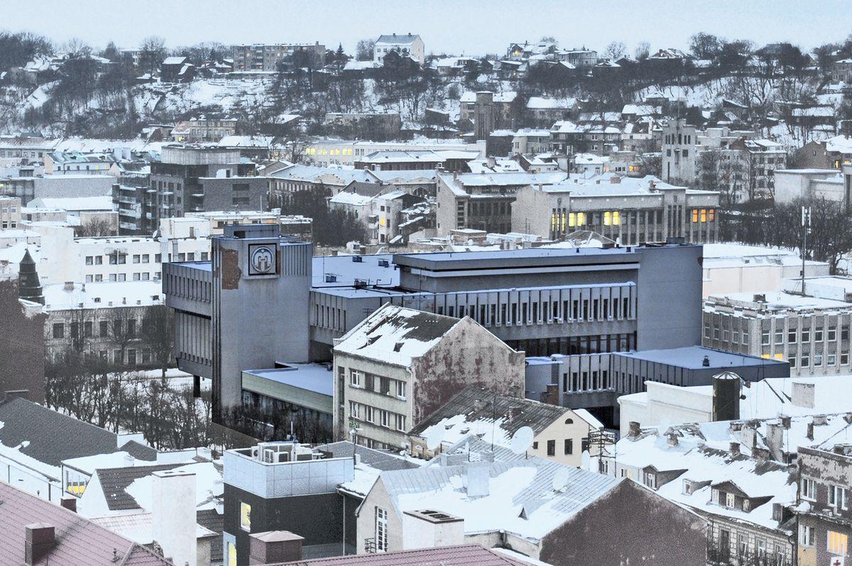 """Pagal architekto Algimanto Sprindžio projektą 1983 metais Laisvės alėjoje pastatyta universalinė parduotuvė """"Merkurijus""""  svarbi Kauno komerciniam pulsui buvo daugiau nei 2 dešimtmečius. Foto: PILOTAS.LT archyvas"""