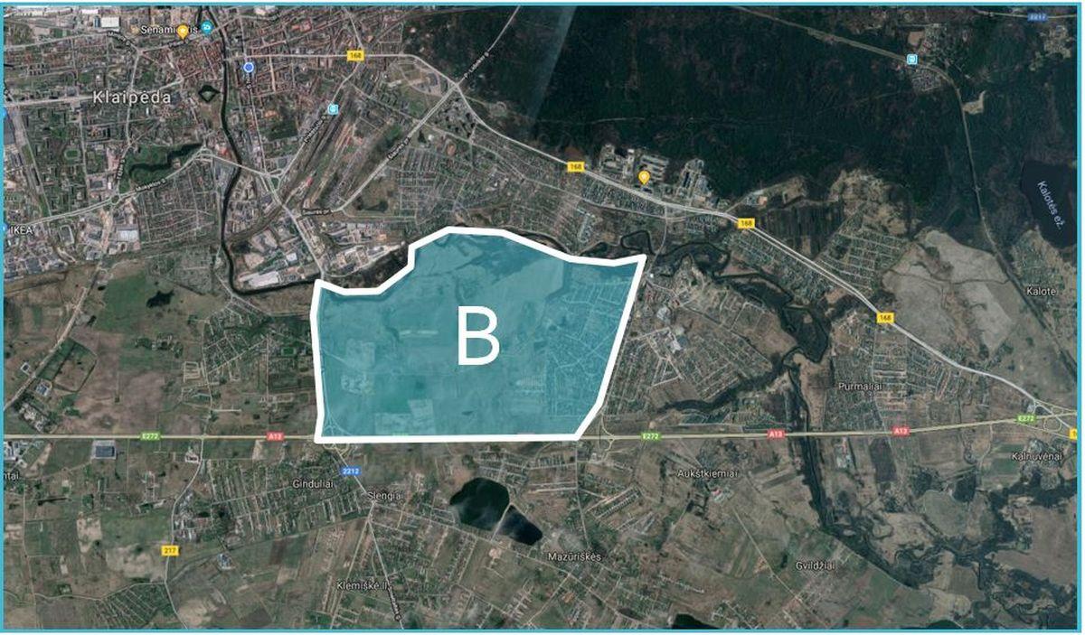 Klaipėdos rytinė dalis