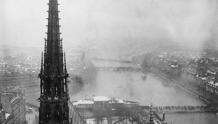 Notre-Dame. Paris, 1910.
