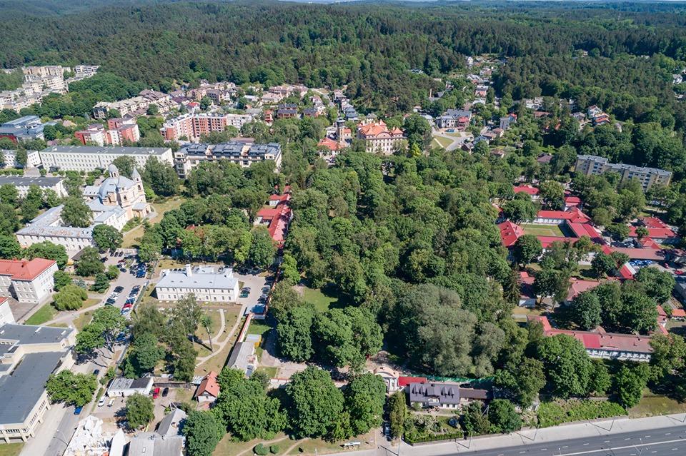 Sapiegų parkas Vilniuje
