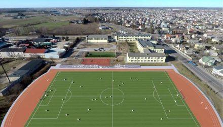 Adomo Mitkaus mokyklos futbolo stadionas Garliavoje