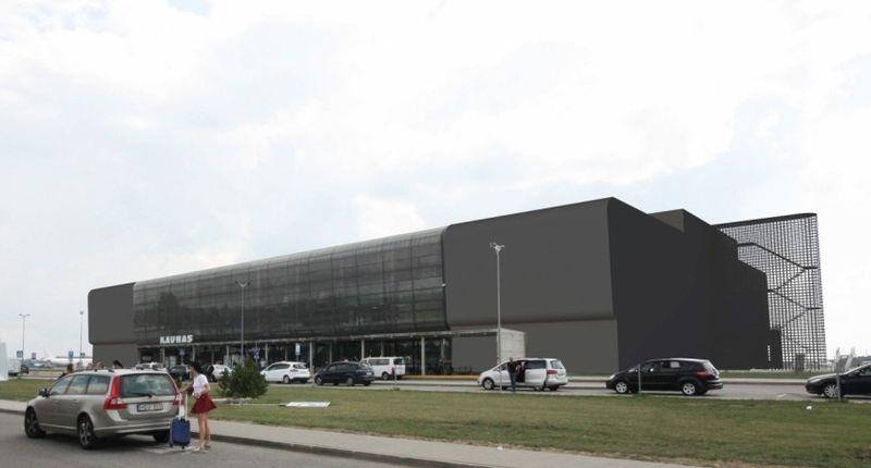 Kauno oro uosto rekonstrukcija, arch. G.Natkevičius