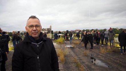 Festivalio KAFe siela architektas Gintaras Balčytis kvietė  pamąstyti apie įženklinančios architektūros vietą. Foto: ©PILOTAS.LT