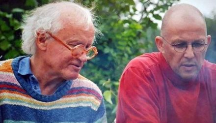 Vilienas Kunnapu ir Vytautas V. Lansbergis