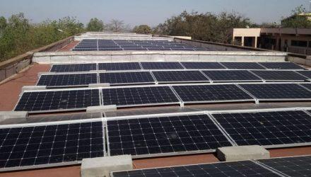 Lietuviška saulės elektrinė Malyje