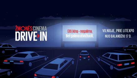 ŽMONĖS Cinema drive-in