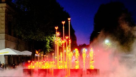 Laisvės al. fontanas