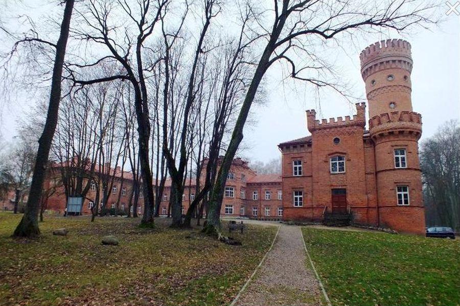 Raudonės pilies kompleksas