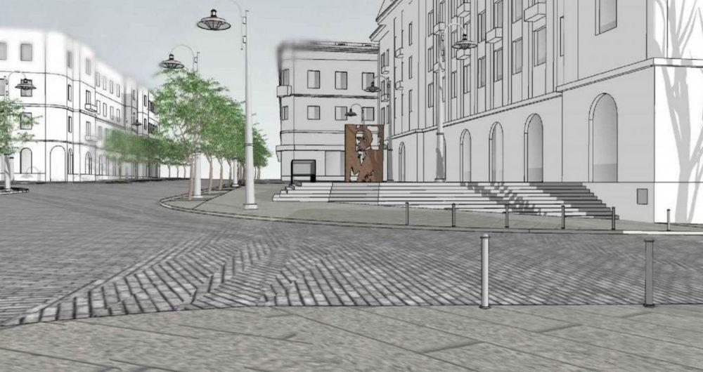 """Titulinė nuotrauka: Projektas devizu """"622522"""" (autoriai – G.A.Sakalis, K.Venclovas, I.Rakauskaitė), 1-oji vieta"""