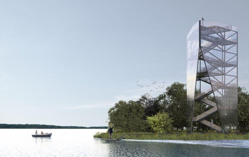 Nemuno deltos apžvalgos bokštas