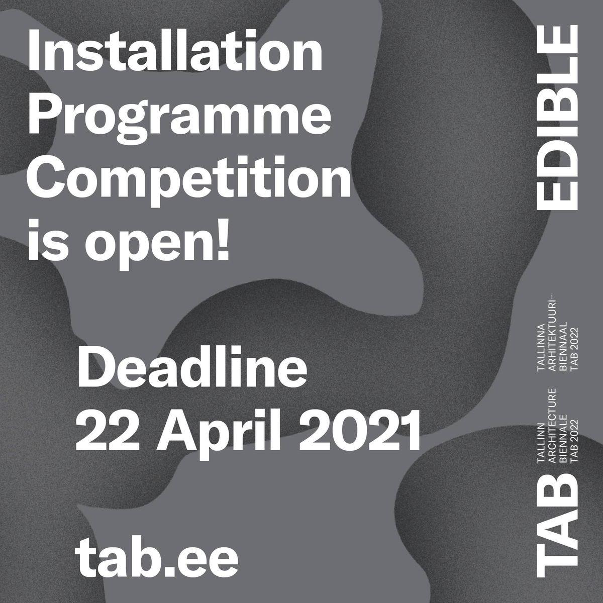 TAB 2022 instaliacijos konkursas