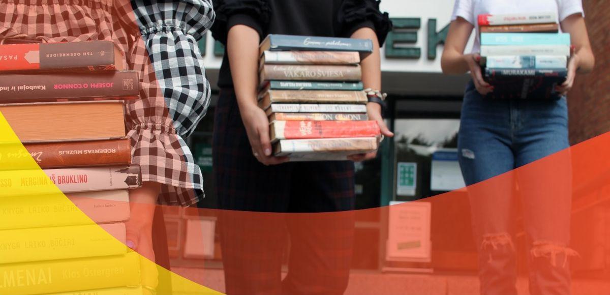 Bibliotekos persikraustymas