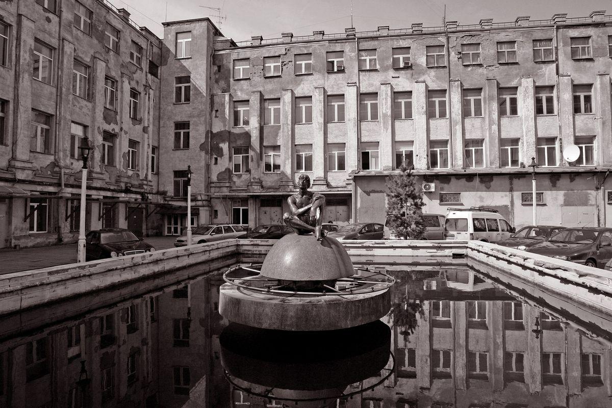 Radijo gamyklos fontanas