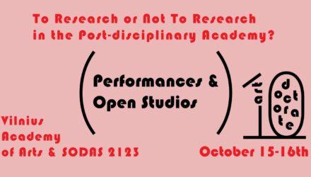 meno doktorantūra